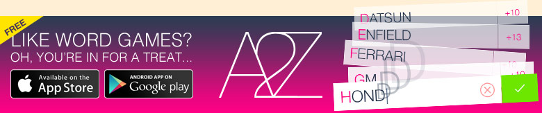 Download the A to Z Game for iOS and Android